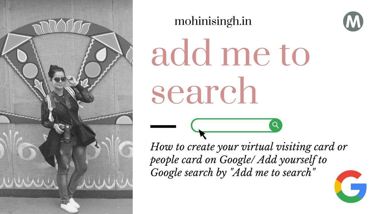 add me to search google