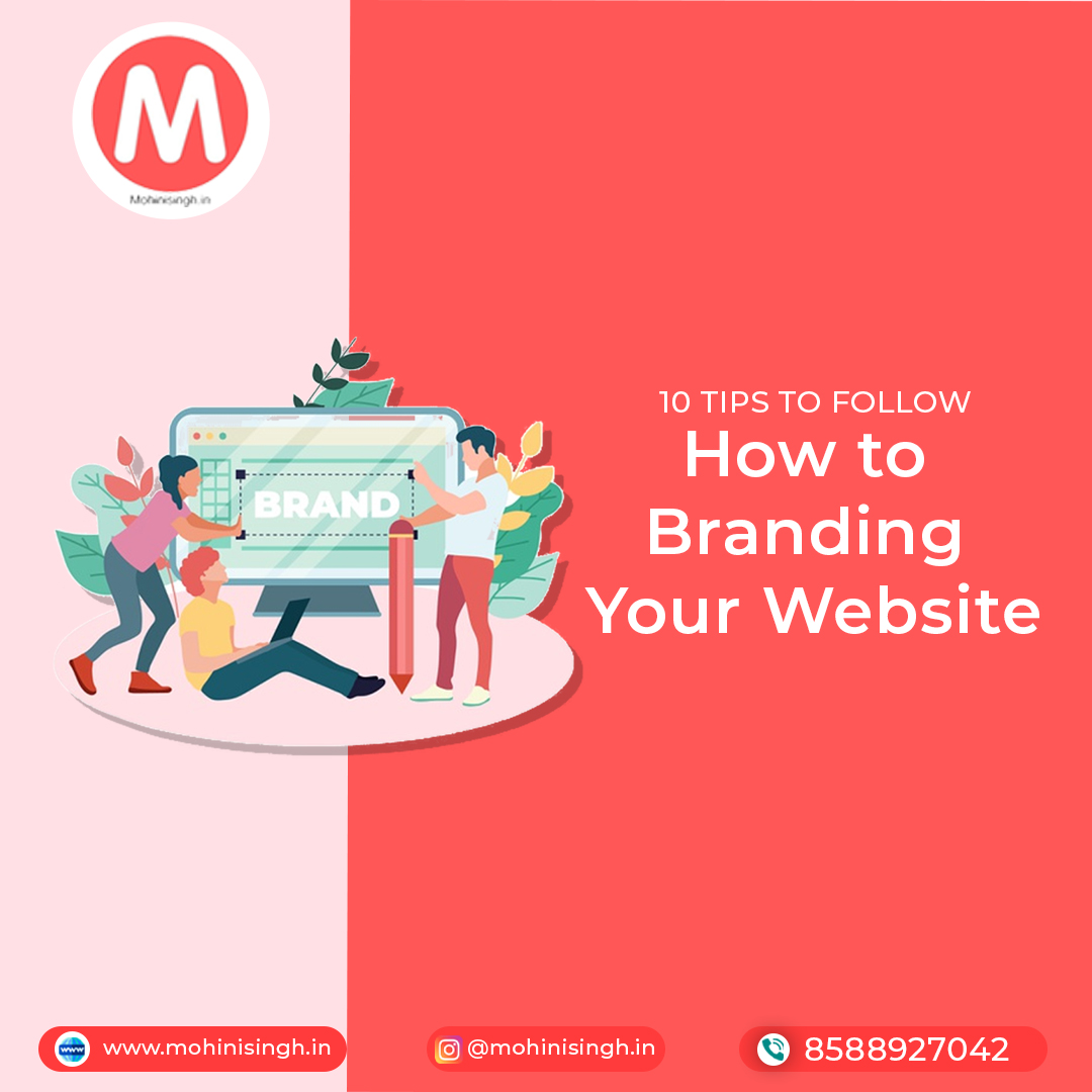 How to brand your Website