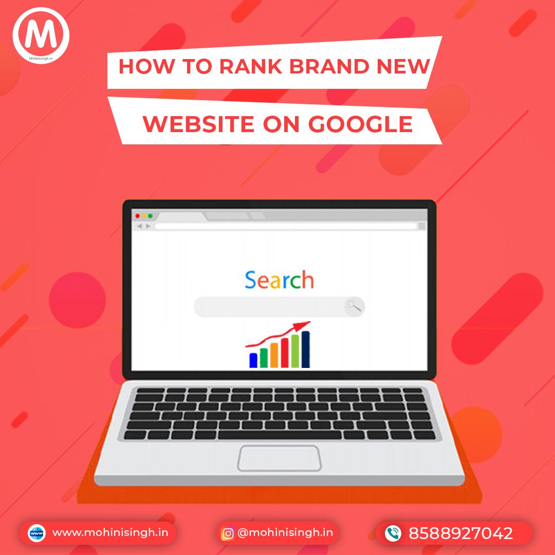 RANK YOUR BRAND-NEW WEBSITE
